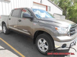 Toyota Tundra Rear Door Cab Corner and Bed Repair
